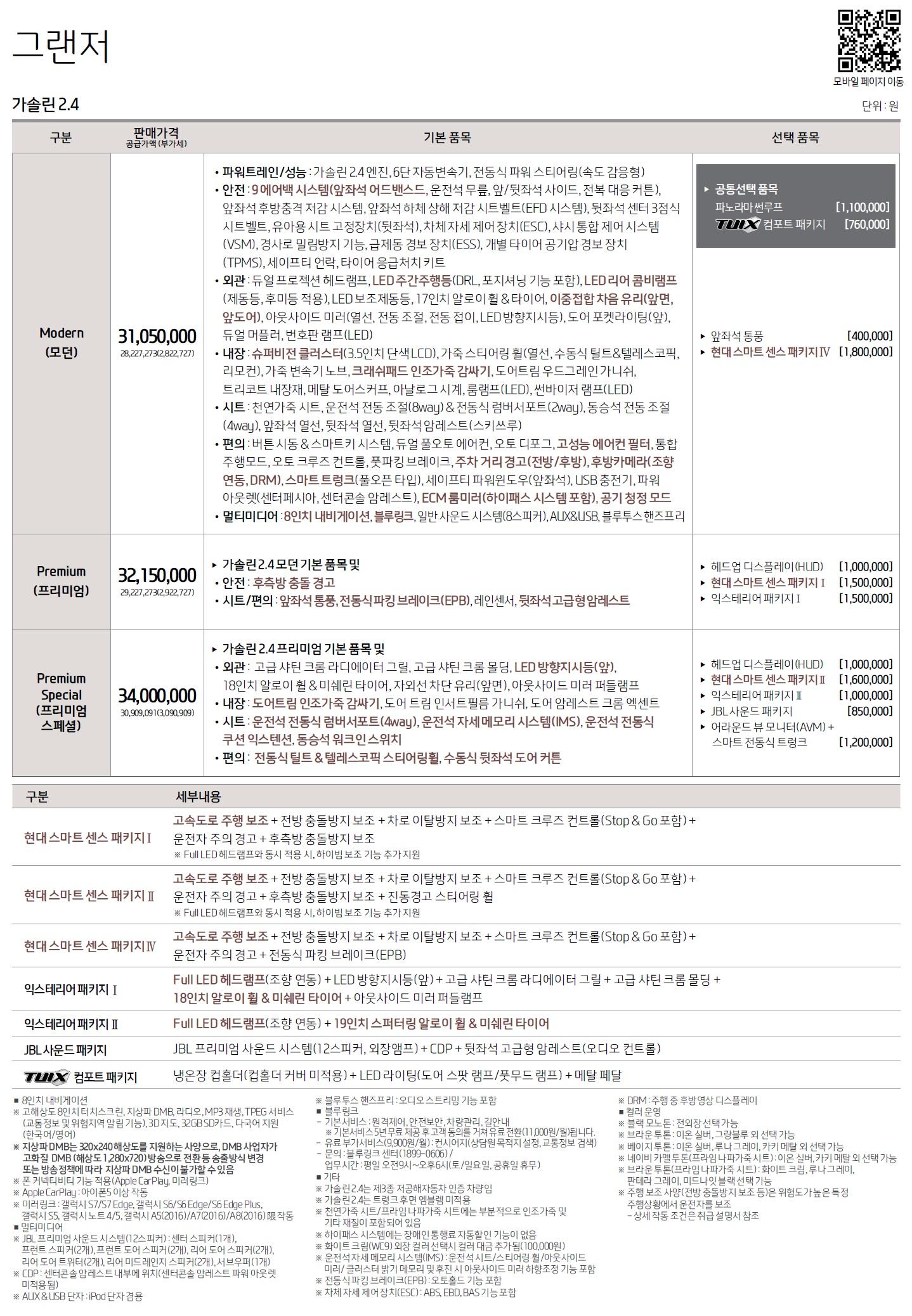 그랜저IG 가격표 - 2017년 11월 -1.jpg
