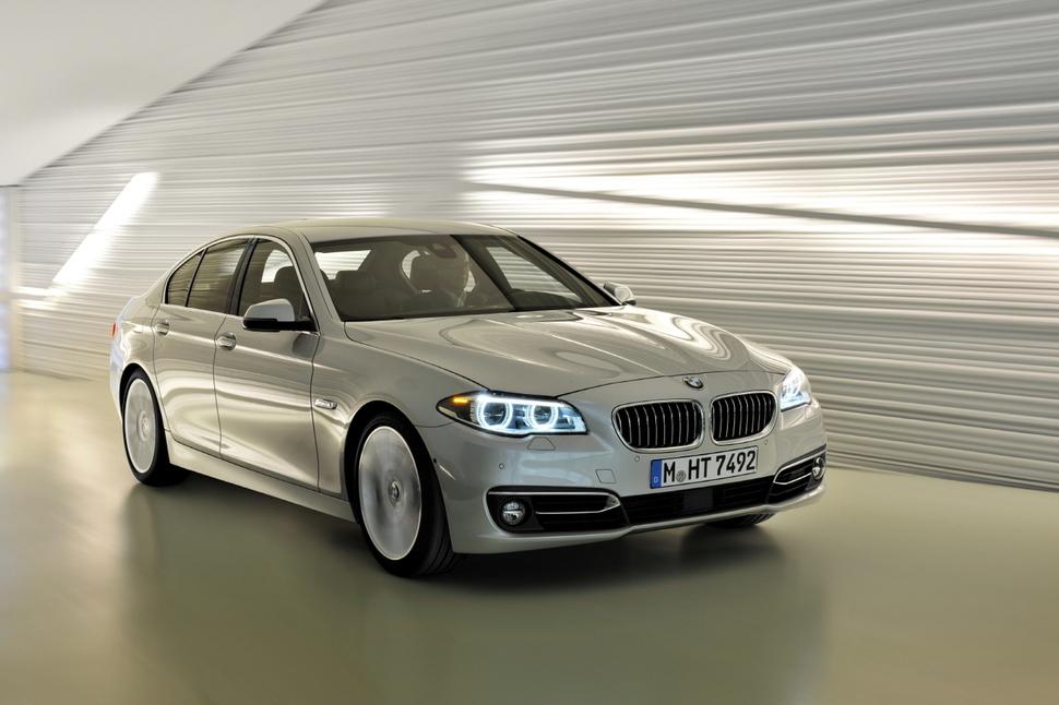배출가스 부품 이상으로 리콜 대상이 된 BMW 520d 모델 승용차   BMW코리아 제공